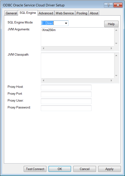 SQL Engine Tab