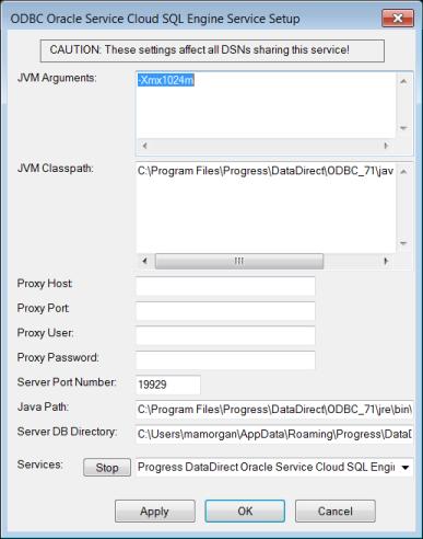 Configuring Server Mode