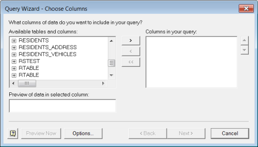 Accessing Data in Microsoft Excel from the Data Connection