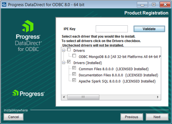 Installing the ODBC Driver on Windows