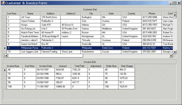 ProDataSet binding example